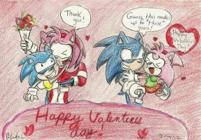 Sonic Valentine's '12 by Starzway