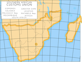Southern African Customs Union by IntrepidTee