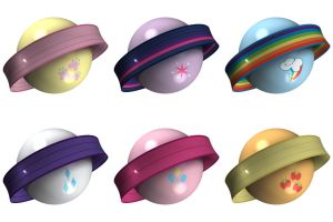 My Spherical Pony Avatar Pack by nftadaedalus