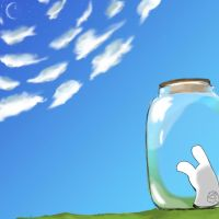 Bunny in a Jar by BunnyJar