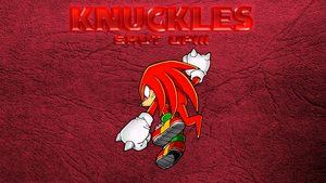 Knuckles Wallpaper by SonicBlueBlur94