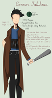 Connor Falukner Reference by BellaChanBases57
