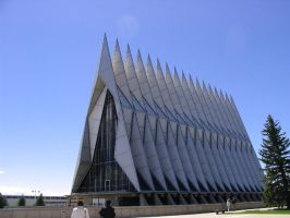 Chapel Air Force Academy by eienmornie