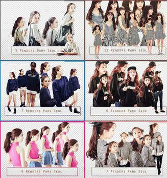 PACK PNG PARK SEUL by JynnieXO