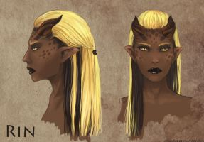 Rin head concept by Angevere