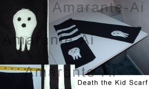 Death the Kid Scarf by Amarante-Ai