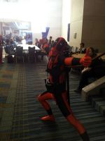 Deadpool approves of this con! by Crowbariswin