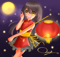 Mid Autumn Festival is Coming ! by ANNi-tan