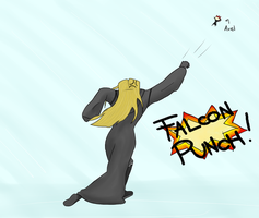 Vexen and Falcon Punch by timeblast