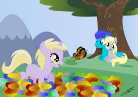 Family hooves (Commission Finished) by LightDragon87