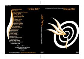 Timing 2007 DVD Cover by the-black-wind