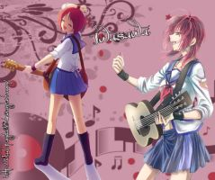 Angel Beats! Iwasawa Wallpaper by BlackPanda36