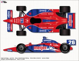 Indy Car Marco Andretti by atomik99