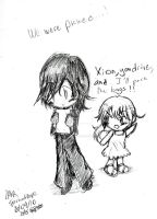Xion and Namine +Chibis+ by SparkzofHope