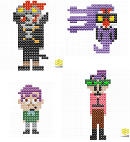 perler designs 2 by PlushBuddies