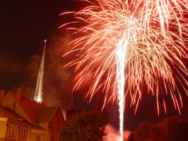 The Church is Exploding by chris-stahl