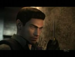 Chris Redfield In DC by Gwin-Bee