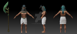 Male sculpt with subtools by Cllaud