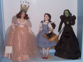 Wizard of Oz Dolls 2 by MadForHatters