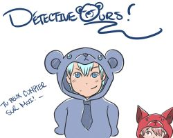 Dectective Bear by NayrusLove16