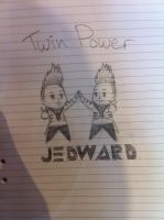 Jedward - Twin Power! by Funny-horsey