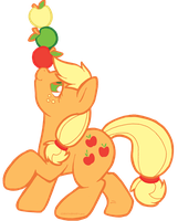 Apple Juggling by SlightInsanity