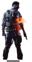 Battlefield 4 - Soldier Render 3 by Crussong