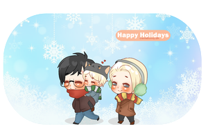 Happy Holidays! by Cremebunny
