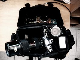 The Dreampack, Canon AE-1 by BirdieG