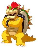 Bowser in Paint by StarWolf597