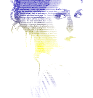 Typography: Nina DObrev by Lenny-art