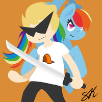 Dirk Strider and His Ironic Love for Ponies by shadowkixx