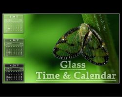 Glass Time Calendar by crish29