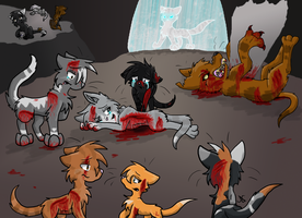 Warriors - Feathertail's Death by GRR2530