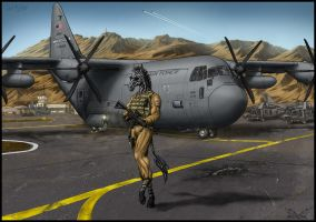 Airman Stripes -commission- by White-Dragon-NL