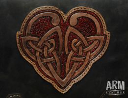 Celtic Heart 4 by Blackthornleather