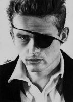 James dean 4 by Selim-mileS