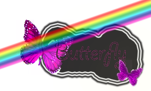 Butterfly PNG by RosaCyrus