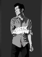 Alex Turner - Vector by Shimgu