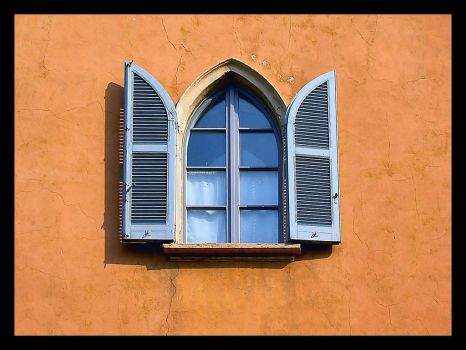 Church window by bupo