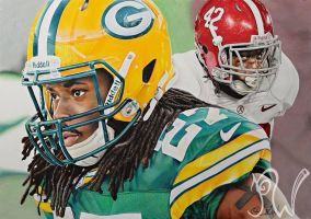 Eddie Lacy: from Bama to Rookie of the Year by PriscillaW