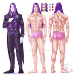 Cain Castillio - Reference Sheet? by Geinkotsu
