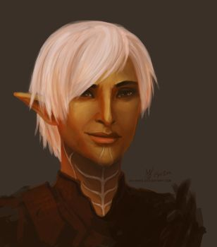 Dragon Age 2: Fenris by adaneko