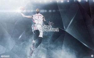 Andre Drummond Wallpaper by IshaanMishra