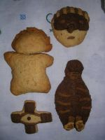Random Dorohedoro's cookies by PodkayneFries