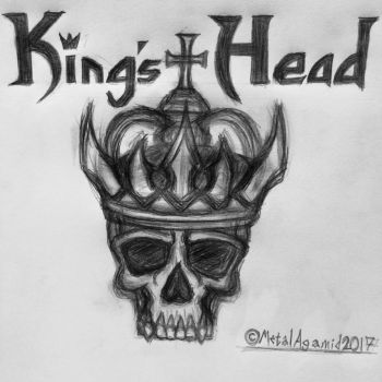 King's Head Band Logo by MetalAgamid