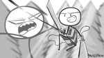 Attack On Titan Stickman thingy by AmusedNacho