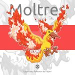 Legendary Pokemon Moltres by RIDJAM