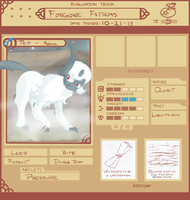 PMDU Team Forgone Fathoms [OLD] by asclepiusartist