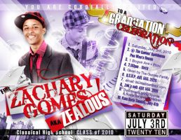 Graduation Party Invitation 1 by AnotherBcreation